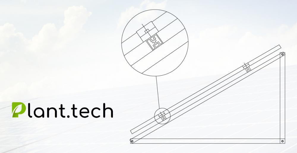 Konstrukcja na sprzedaż do montażu paneli fotowoltaicznych na dachu płaski