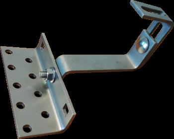 uchwyt montażowy do paneli fotowoltaicznych z podwójną regulacją T2R